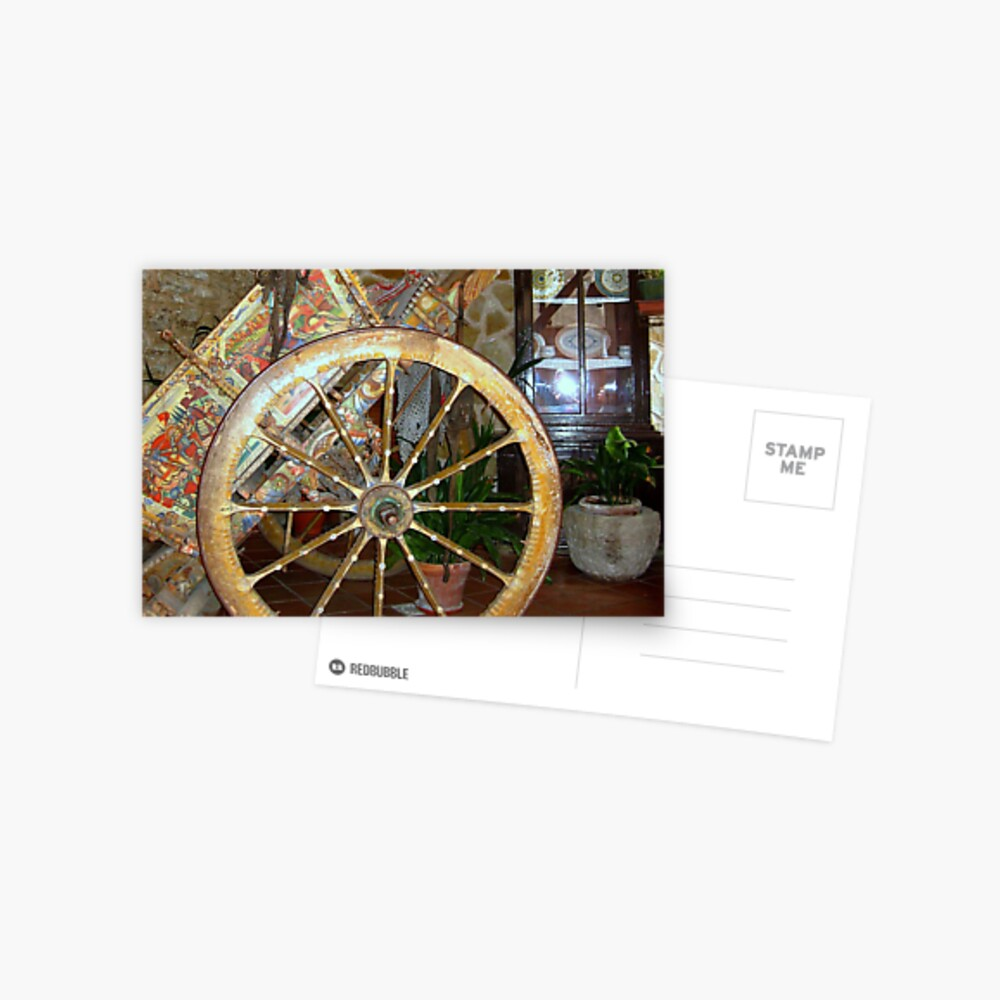 Sicilian Carriage_the Painting Postcard