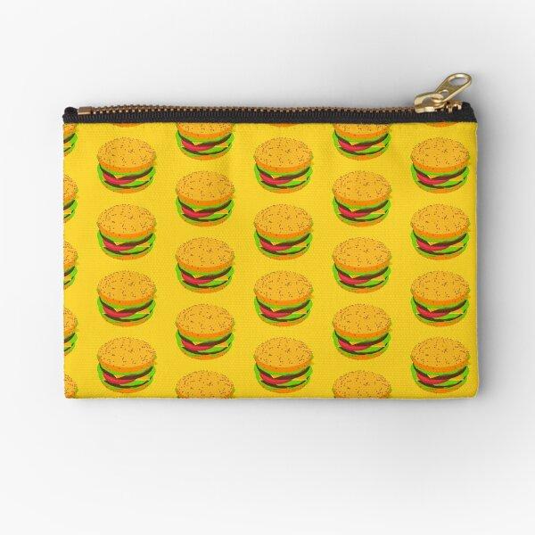 Burger Time Zipper Pouch