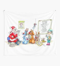Reindeer For Hire Wall Tapestry