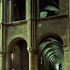 West wall of South Transept and Aisle St Remis Reims France 19840823 0057 by Fred Mitchell