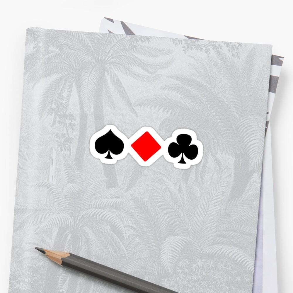 Spade, Diamond, Club, ... by FightingPrawn