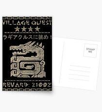 Village Quest - Lagiacrus Postcards