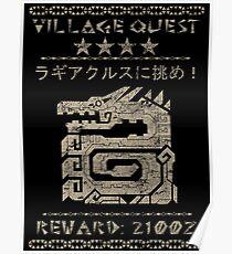 Village Quest - Lagiacrus Poster