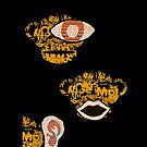 The Three Wise Monkeys by MARTIN LITHGOW