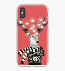 Christmas Bright Reindeer  iPhone Case