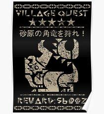 Village Quest - Diablos Poster