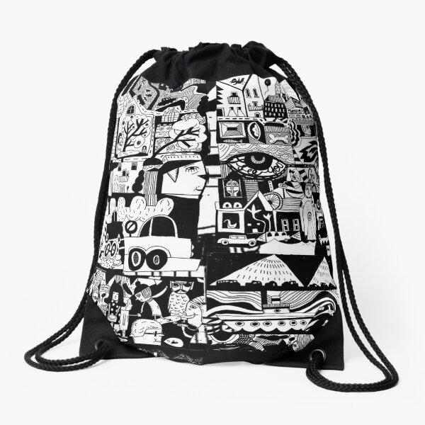 CITY LIFE Drawstring Bag