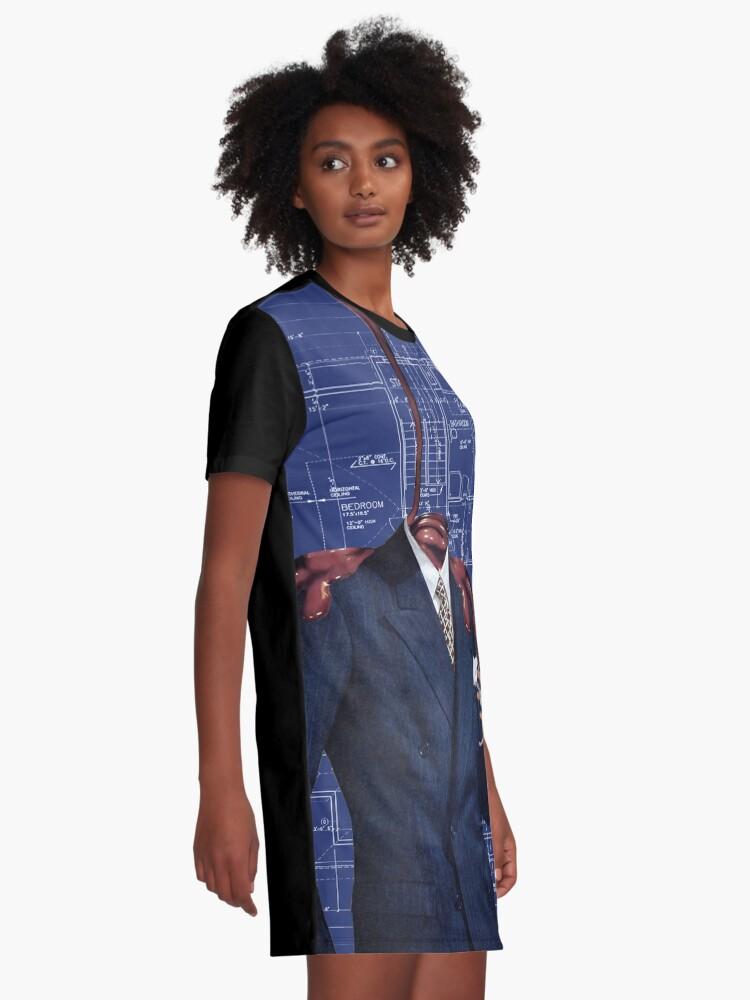 Vista alternativa de Vestido camiseta Jarabe dulce