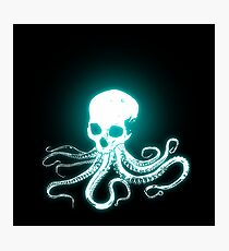 Electric Octojelly  Photographic Print