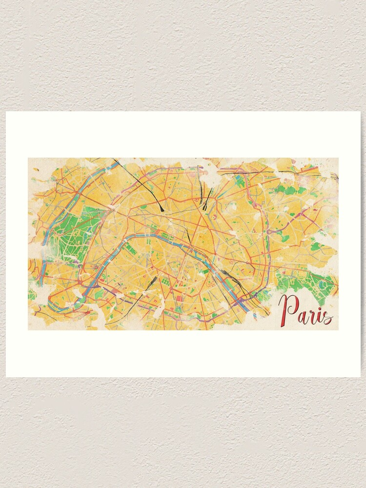 Alternate view of Another Paris Art Print
