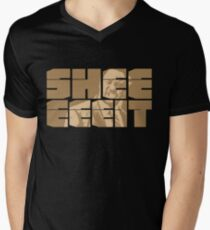 The Senator's Sheeeit Men's V-Neck T-Shirt