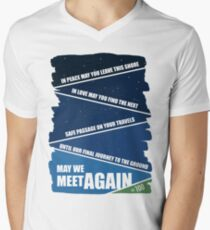 May We Meet Again Mens V-Neck T-Shirt
