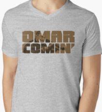 Omar Comin' Men's V-Neck T-Shirt