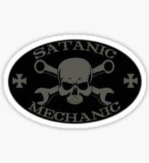 Satanic Mechanic Sticker