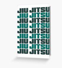 JIU JITSU - BRAZILIAN JIU JITSU Greeting Card