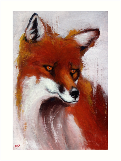The Watching Fox by Allen Donnelly