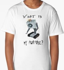 Rick and Morty Butter Robot T-Shirt - What is My Purpose? - Awesome Rick and Morty Gift - Funny Rick and Morty Hoodie - Pass the Butter  Long T-Shirt