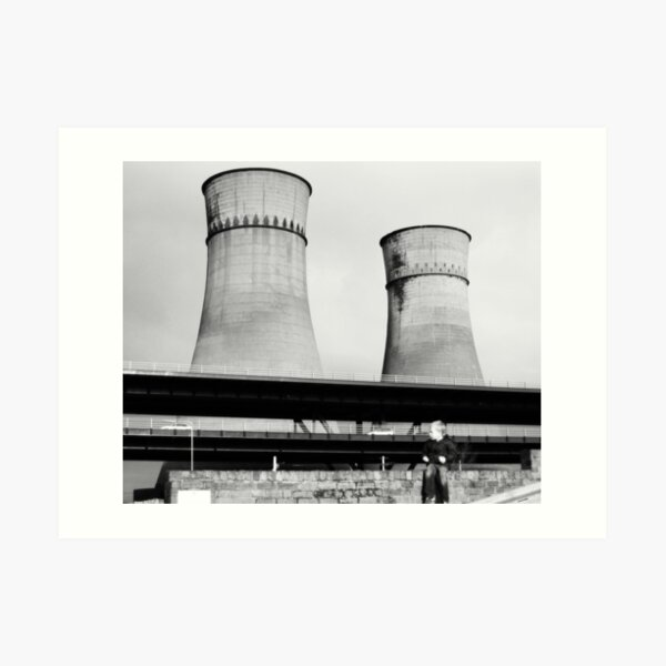 Cooling Towers / Viaduct / Boy Art Print