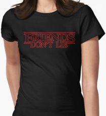 Friends dont lie Women's Fitted T-Shirt