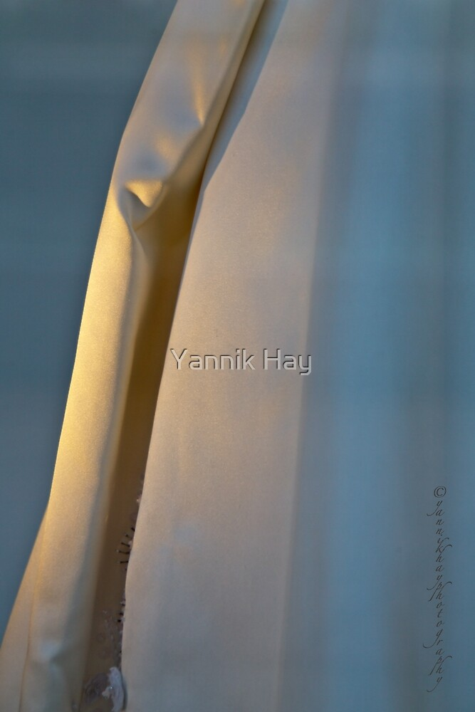 Evening Gown - Blue and Gold by Yannik Hay