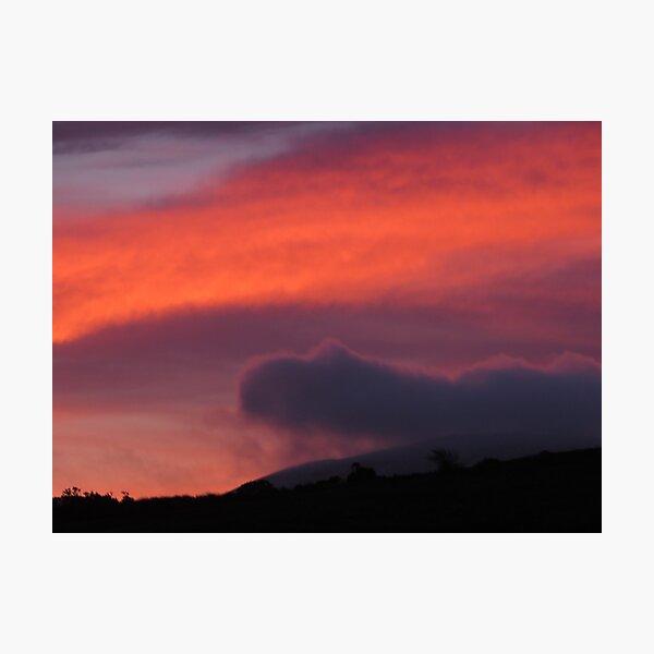 Tirhoran sunrise Photographic Print