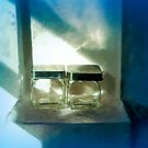 Glass Jars Still Life by Barry W  King