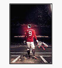 Zlatan Ibrahimovic - Manchester United. Photographic Print