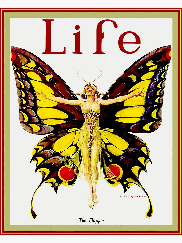 LIFE : Vintage 1922 Flapper Advertising Print by posterbobs
