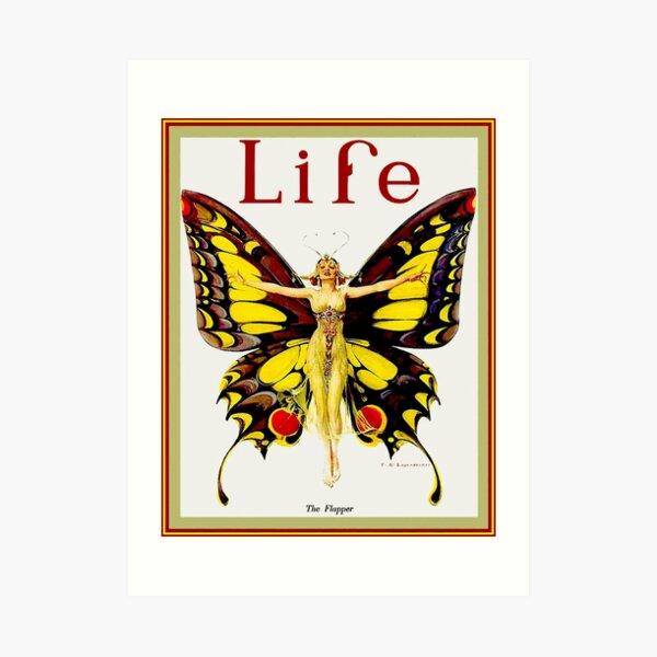 LIFE : Vintage 1922 Flapper Advertising Print Art Print