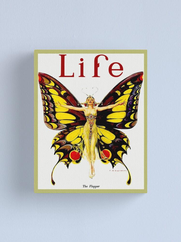 Alternate view of LIFE : Vintage 1922 Flapper Advertising Print Canvas Print