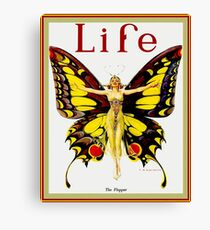LIFE : Vintage 1922 Flapper Advertising Print Canvas Print