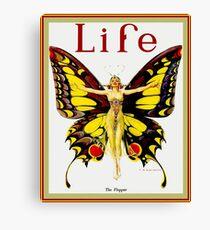 Lienzo VIDA: Publicidad publicitaria Vintage Flapper 1922