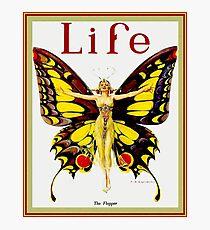 LIFE : Vintage 1922 Flapper Advertising Print Photographic Print