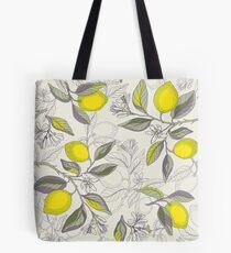Bolsa de tela Patrón de limón