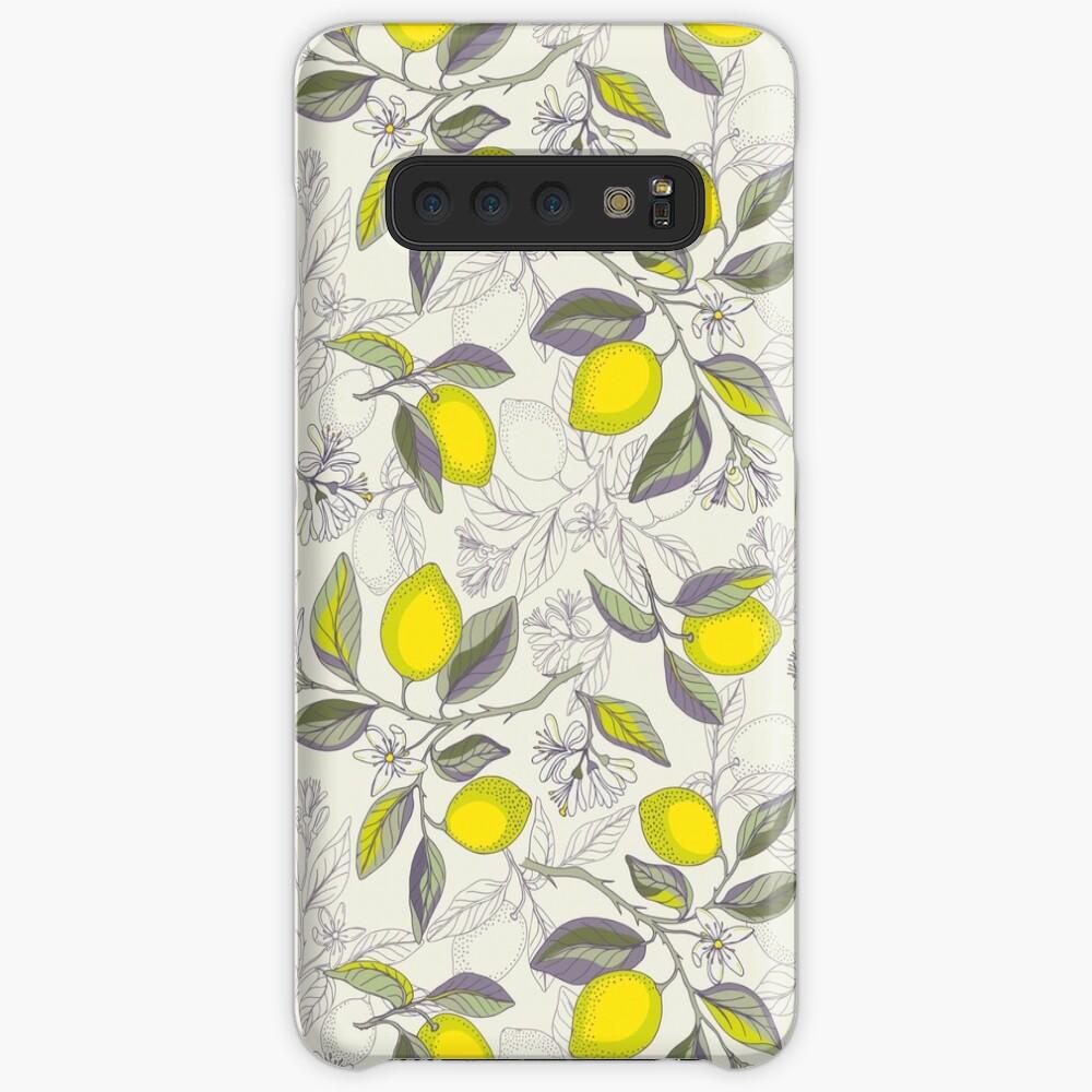 Lemon pattern Case & Skin for Samsung Galaxy
