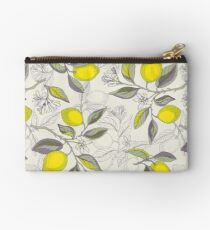 Lemon pattern Zipper Pouch