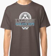 Hadleys Hope - Atmosphere Processing Plant - Aliens Classic T-Shirt