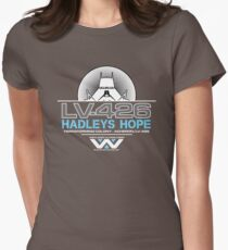 Hadleys Hope - Atmosphere Processing Plant - Aliens Women's Fitted T-Shirt