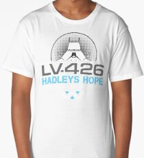 Hadleys Hope - Atmosphere Processing Plant - Aliens Long T-Shirt