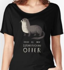 significant otter Women's Relaxed Fit T-Shirt