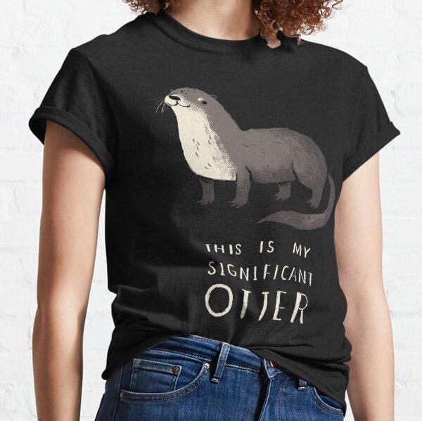 Loutre significative T-shirt classique
