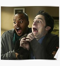 Scared Scrubs Poster