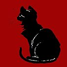 Life With Black Cats Vector by taiche