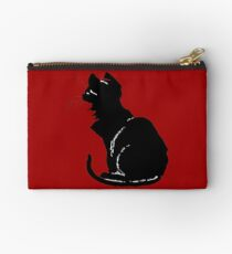 Life With Black Cats Vector Studio Pouch