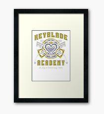 Keyblade Academy Framed Print