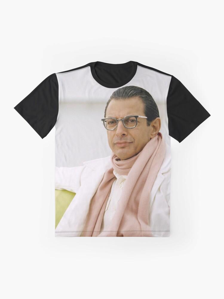 Alternate view of Jeff Goldblum Graphic T-Shirt