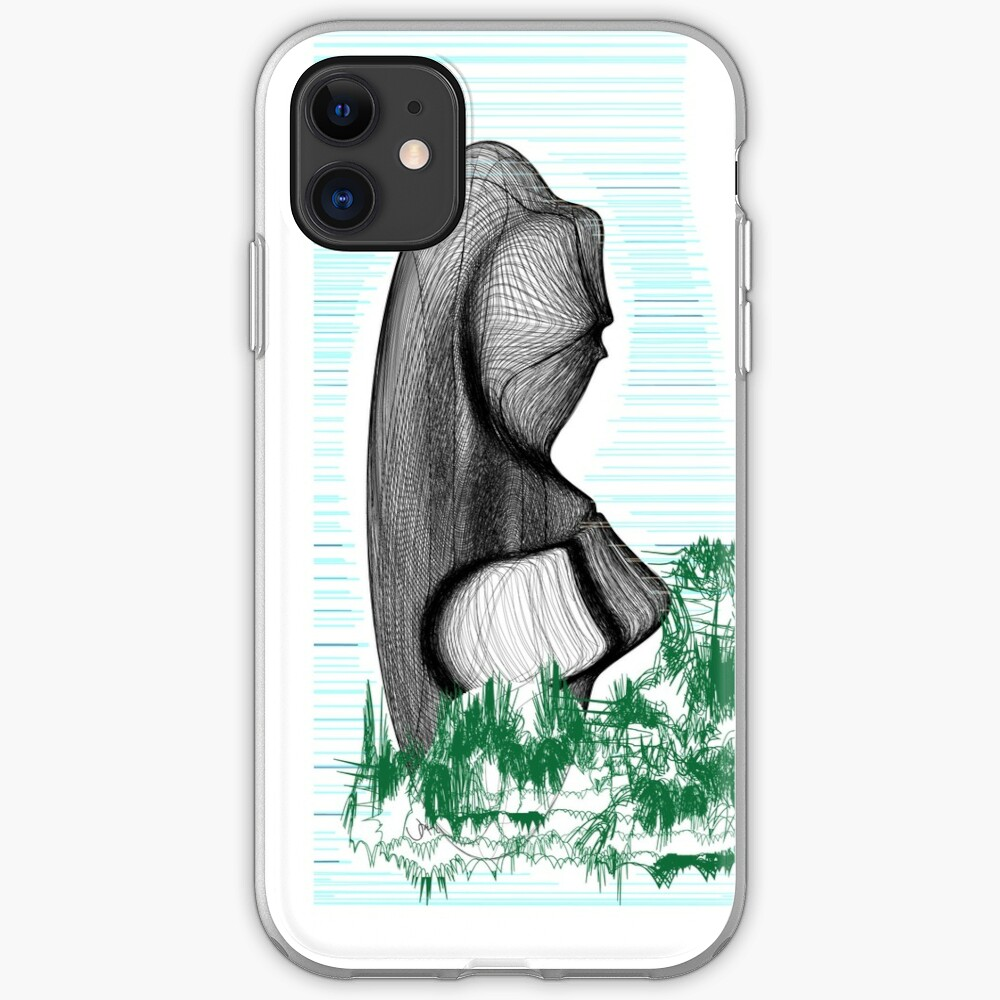 Easter Island Parenting Abstract iPhone Case & Cover