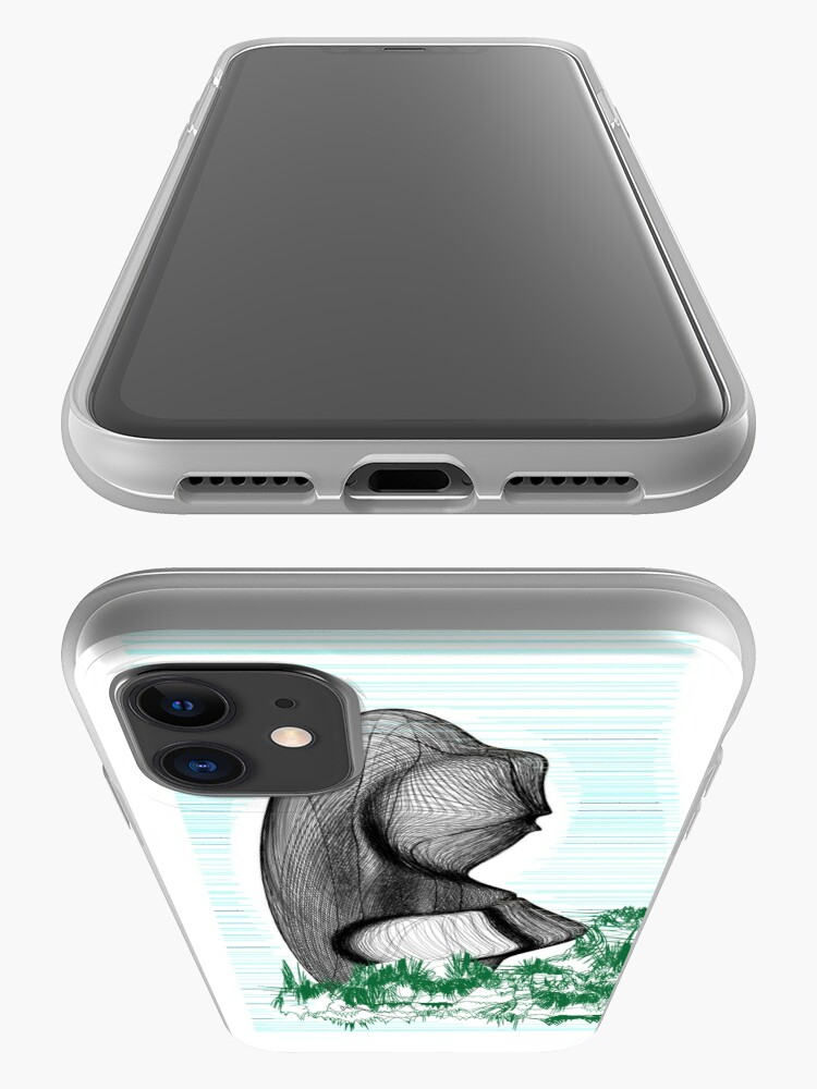 Alternate view of Easter Island Parenting Abstract iPhone Case & Cover