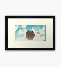Cloud Patrol Framed Print