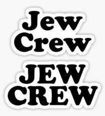 Pegatina Tripulación judía